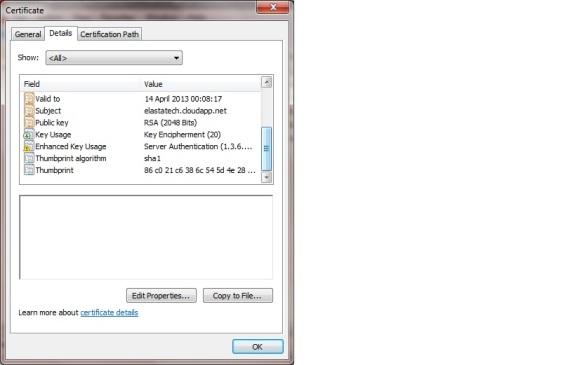X509 Certificate with KU/EKU properties